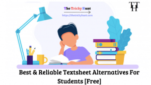 Textsheet Alternatives List
