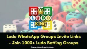 Ludo Whatsapp Group Links